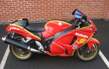 Suzuki Barry Sheene Hayabusa