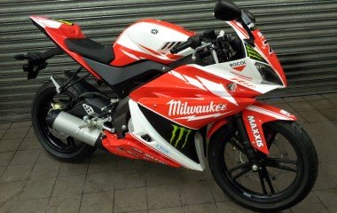 Yamaha YZF R125 Milwaukee
