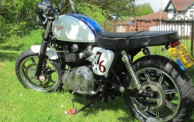 Triumph Bonneville Off Road