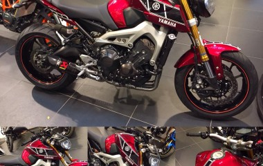 Yamaha MT-09 Candy Fire Red