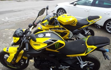 Yamaha MT-125 Yellow Monster