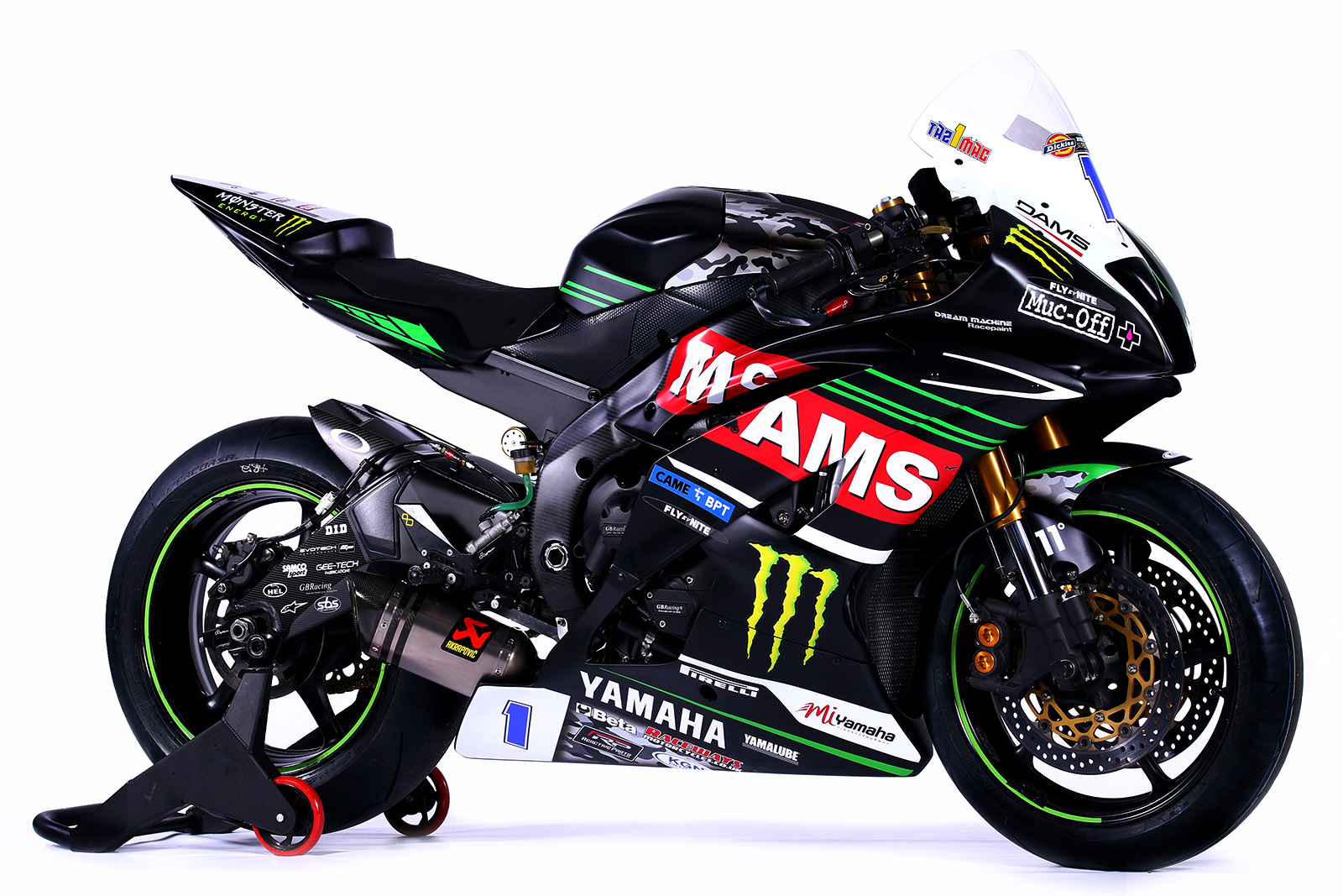 Dream Machine paints Mcams Yamaha R6 for 2017