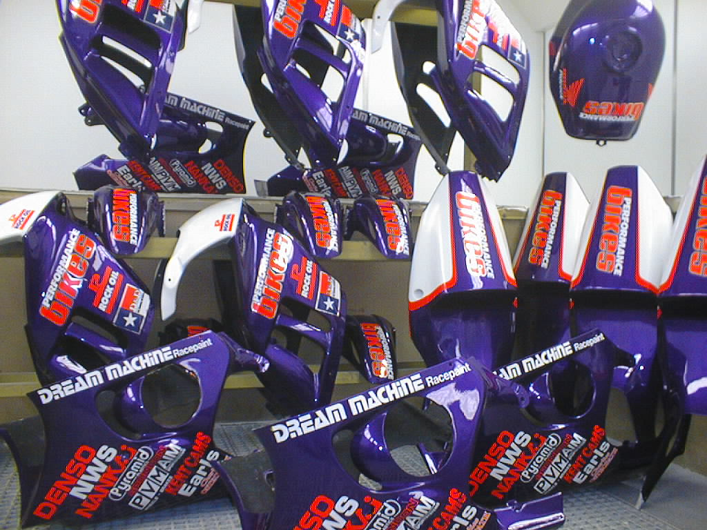 Motorcycle Racing Paintwork History | Dream Machine Nottingham & Derby