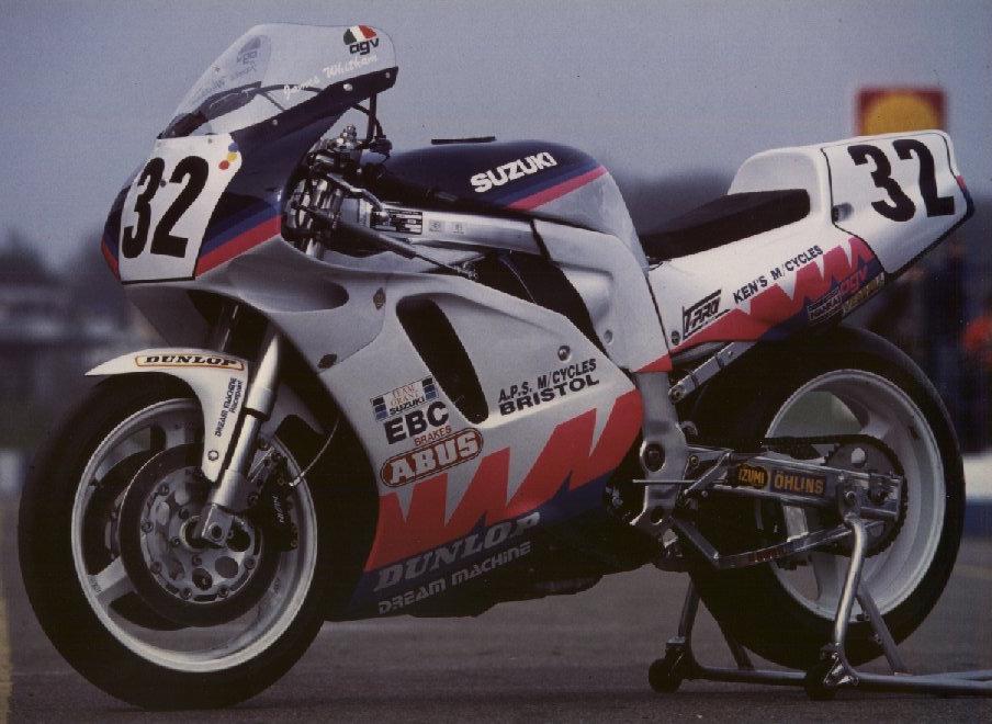 Motorcycle Racing Paintwork History | Dream Machine